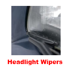 Headlight / Headlamp Windscreen Wipers